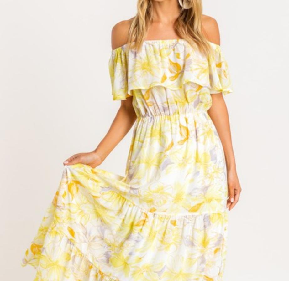 Lush Ready, Set, Vacay Dress