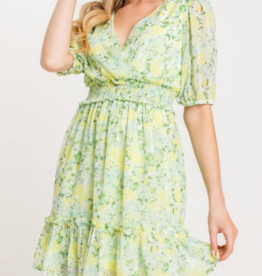 Lush Your Zest Bet Mini Dress