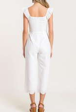 Lush Just You and Eyelet Jumpsuit