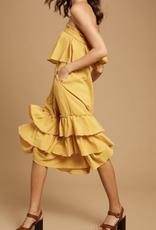 Listicle Pocket Full of Sunshine Midi Dress