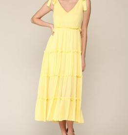 Illa Illa I Live for the Sun Midi Dress
