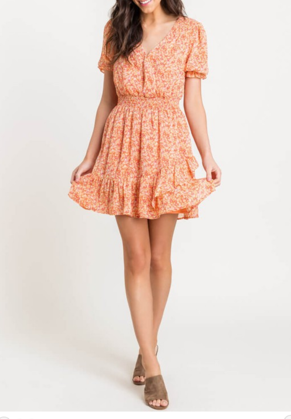 Lush Everything Will Be Bouquet Dress