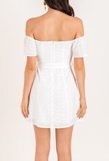 Lush I've Got My Eyelet On You Dress
