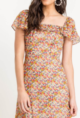 Lush Strike a Rose Dress