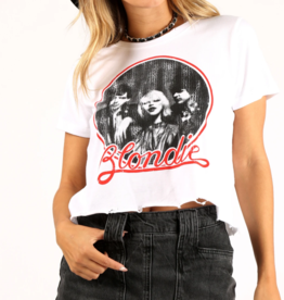 Precision Apparel Blondie Logo Crop Top