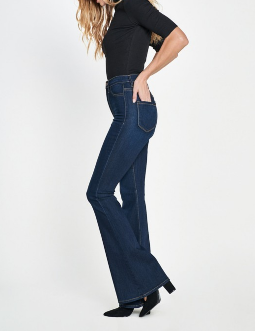 Vibrant A League of Flare Own Jeans