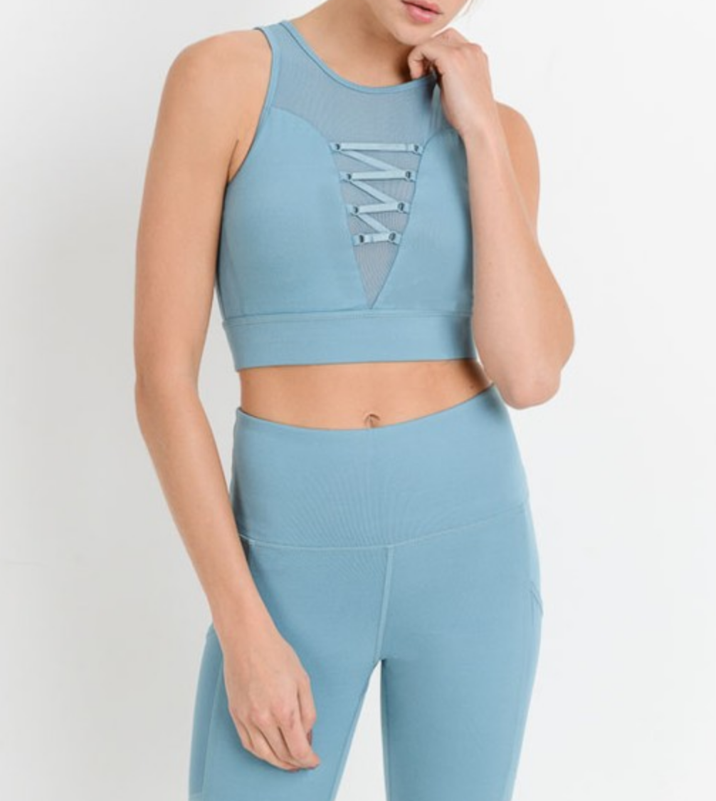 Mono b Off To The Laces Sports Bra