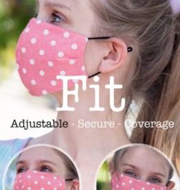 Haptics Reusable Face Mask with Filter