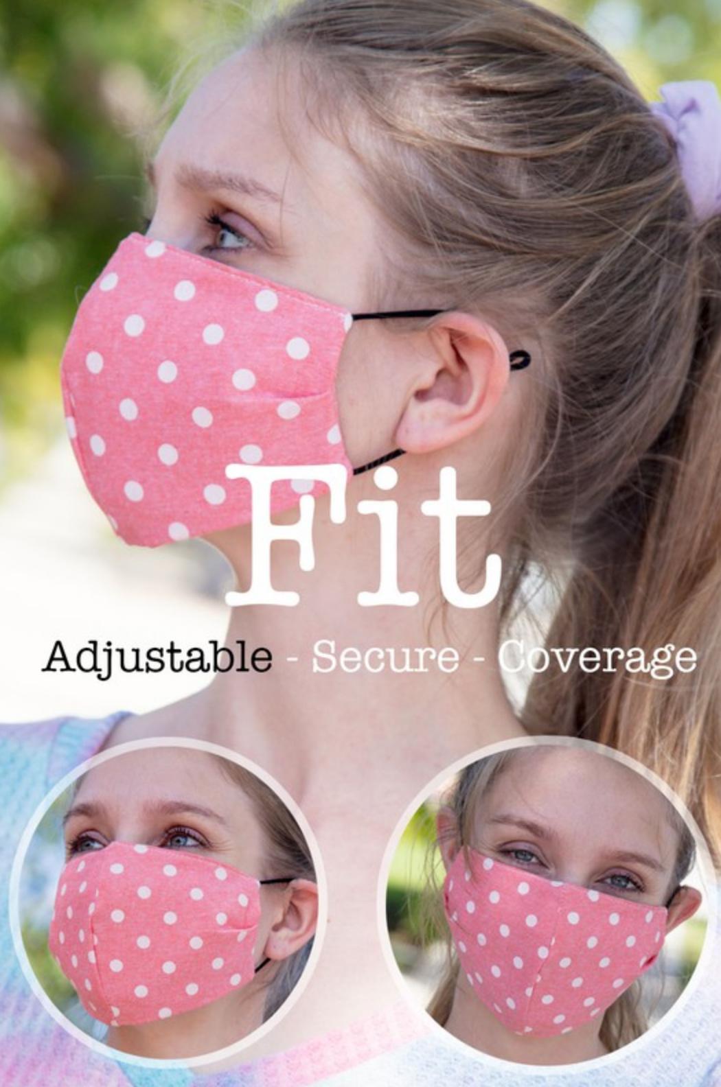 Haptics Reusable Face Mask with Filter