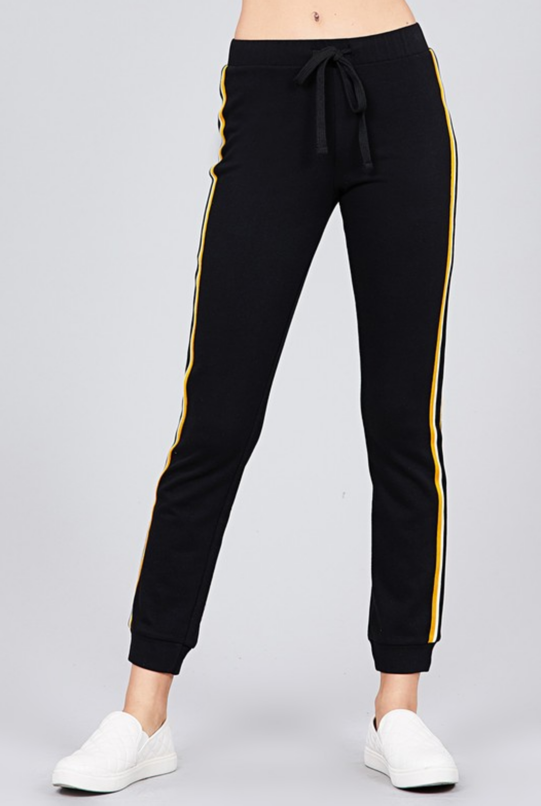 Active Basic Stripe Dream Terry Joggers