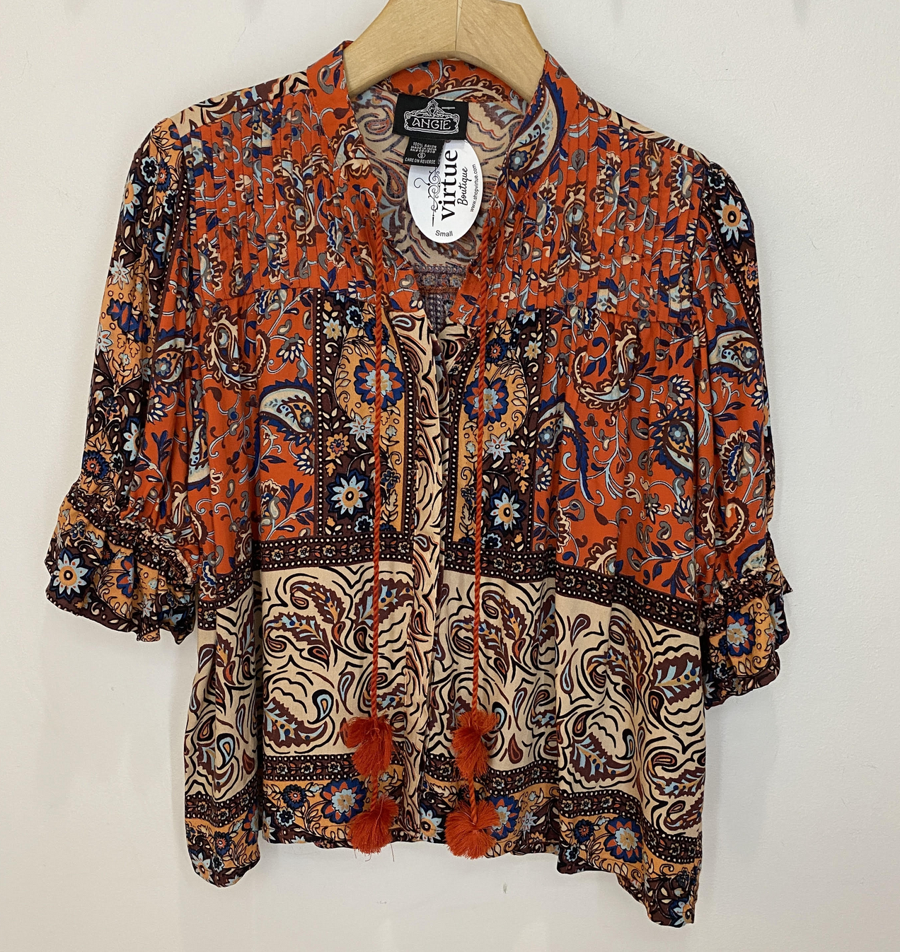 Angie Be My Paisley Top