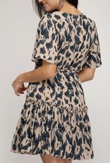 She & Sky Leopard Dreams Dress