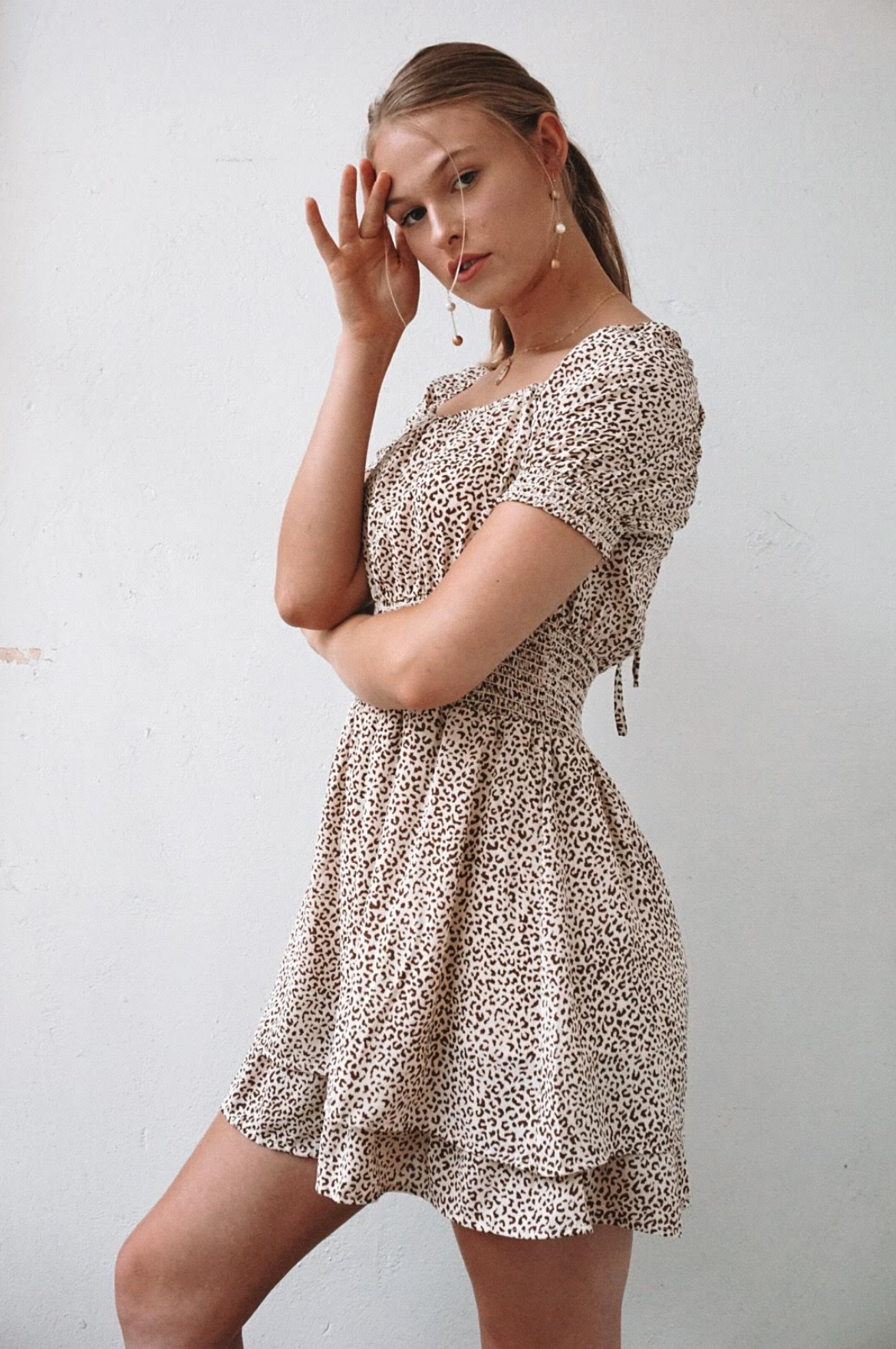 She & Sky No One's Purrfect Dress