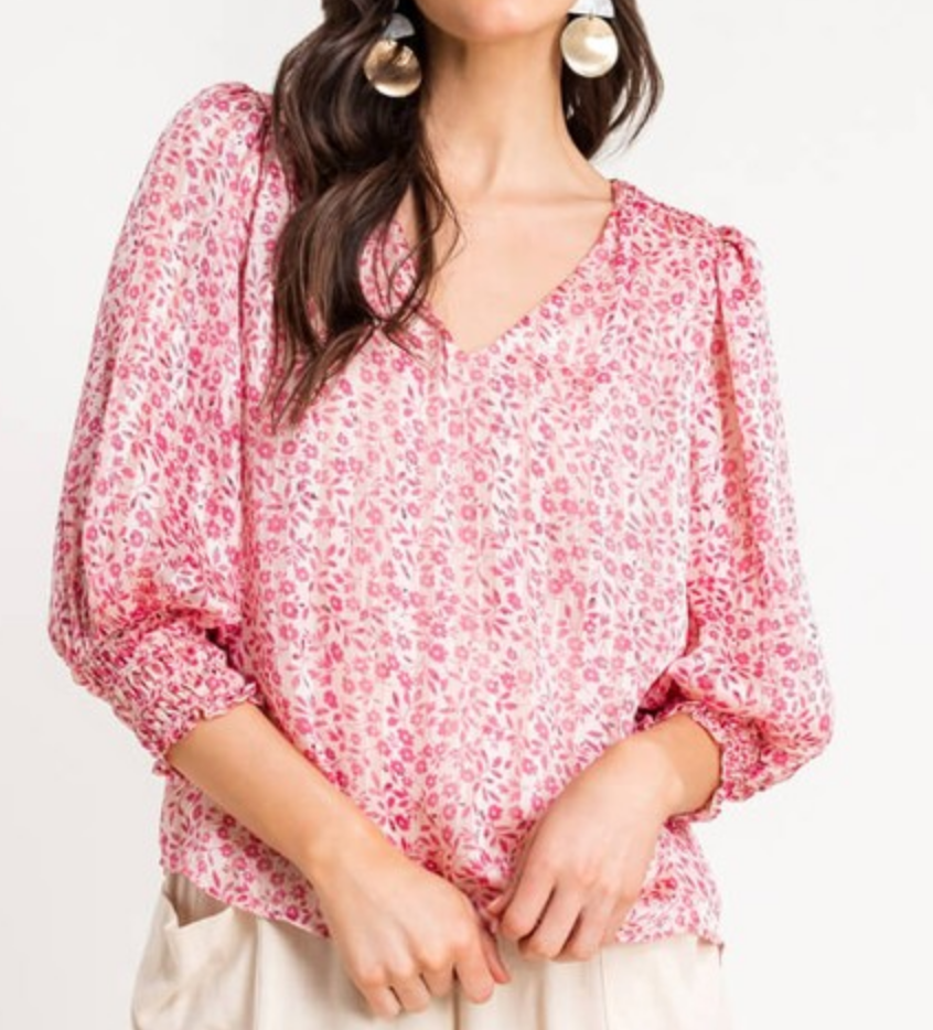 Lush Pretty in Pink Top