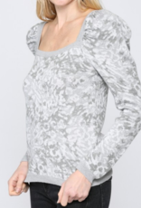 FATE BY LFD Snow Leopard Sweater