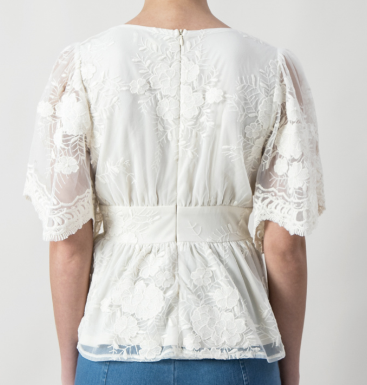 Flying Tomato Melrose Lace Top