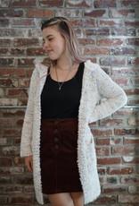 Hem & Thread Cozy Hoodie Sweater Cardigan