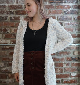 Hem & Thread Cozy Hoodie Sweater Cardigan