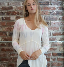 POL Dip Dye Knit Top