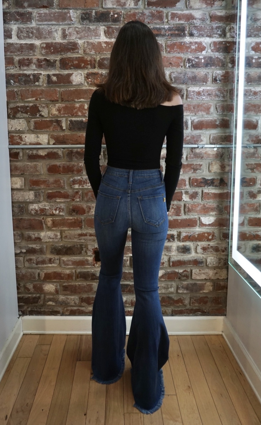 Vibrant Ava Flare Jeans