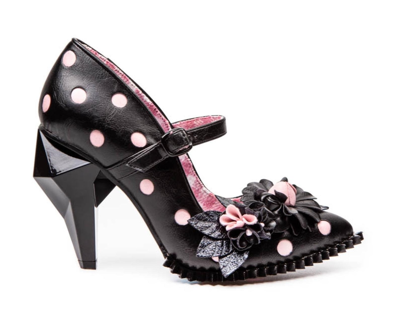 Irregular Choice Crystal Pips Heels