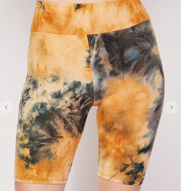 Tie Dye & Demand Shorts