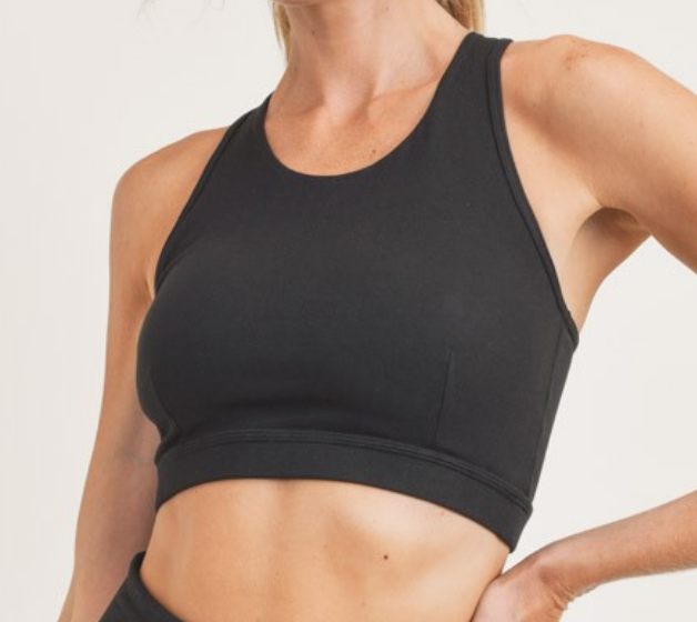 Mono b Balance of Braid Sports Bra