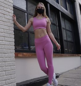 Mono b Double Bubble Gum Sports Bra