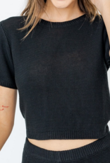 Le Lis Knits Bound To Happen Top