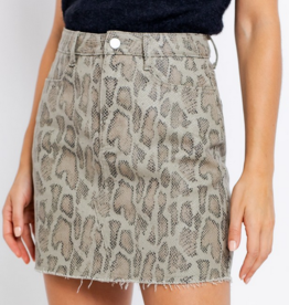 Le Lis Party Animal Skirt