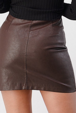 Evenuel All I Leather Wanted Skirt