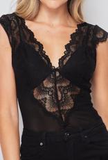 2NE1 Lace Me Up Bodysuit