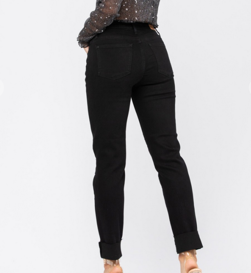 Judy Blue Distress Around Jeans