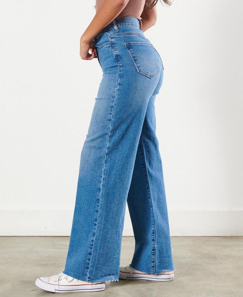 Vibrant 90's Baby Jeans