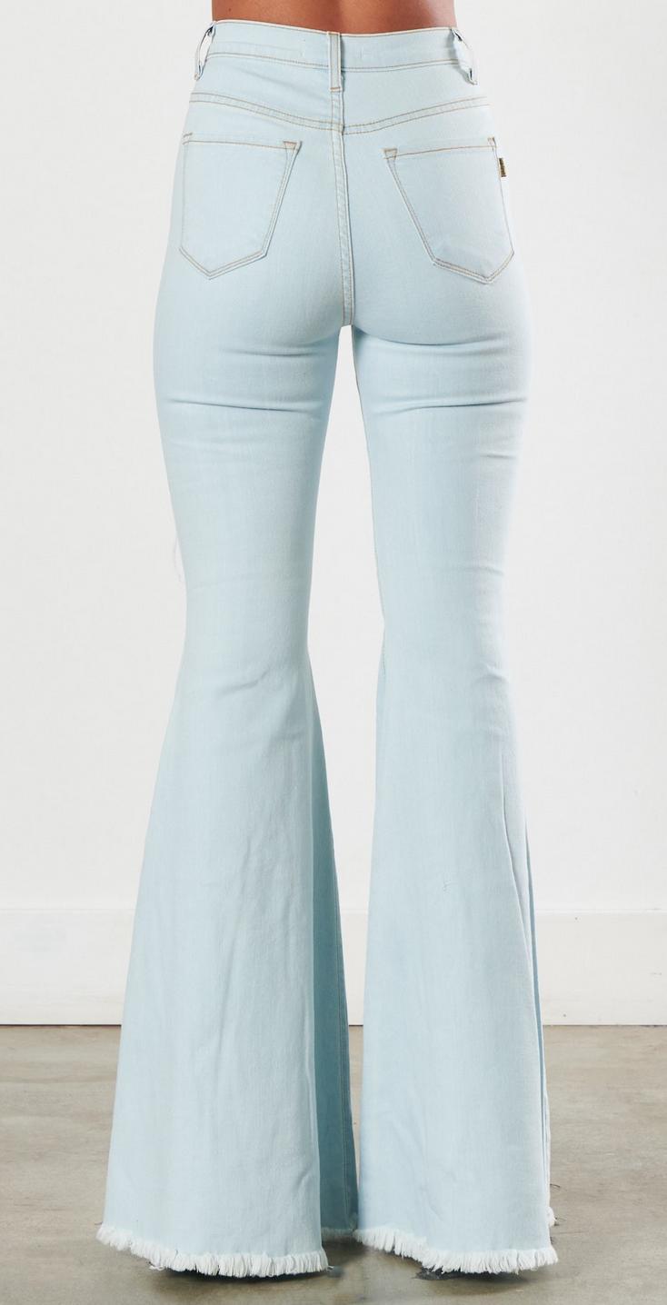 Vibrant Midnight Dream Flare Jeans