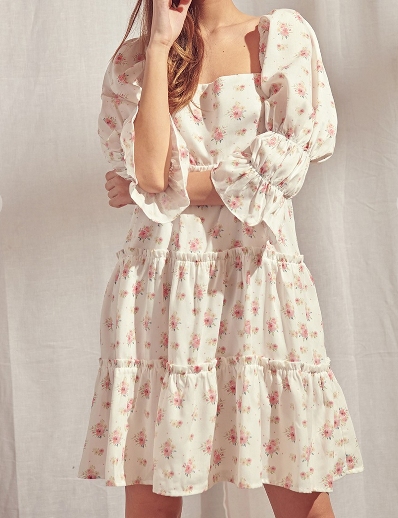 Storia Time For Tea Babydoll Dress