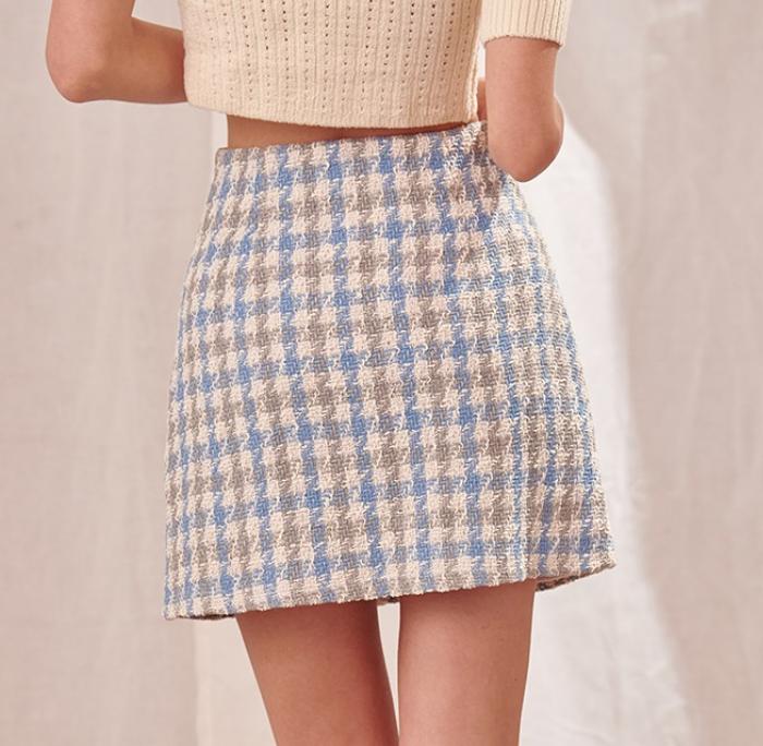 Storia Rain Check Skirt