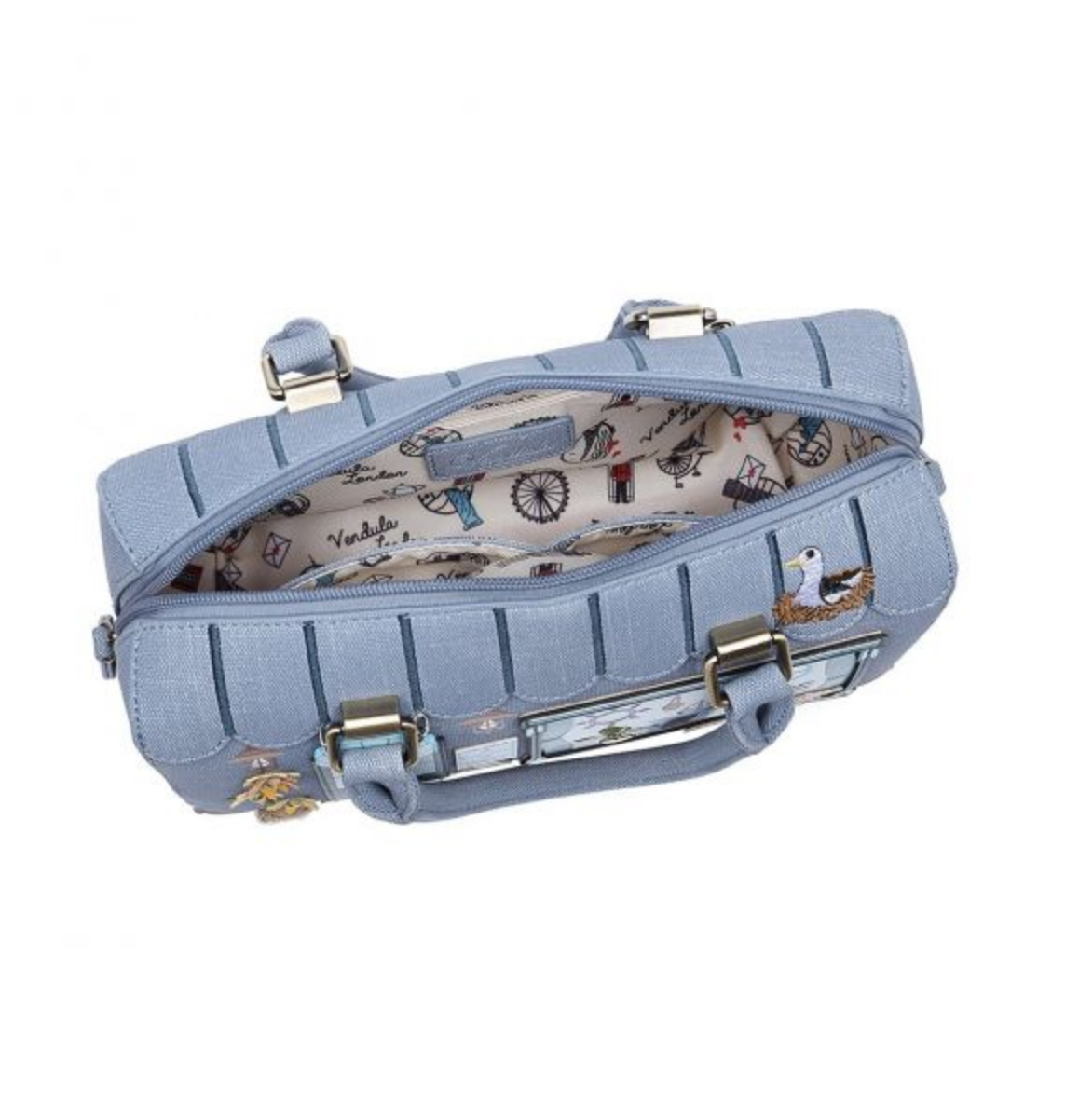 Vendula London Vendula London Seashell B&B Speedy Bowler Bag