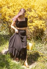 Illa Illa Shirred Delight Maxi Skirt