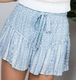 Illa Illa Don't Ruffle My Flowers Shorts