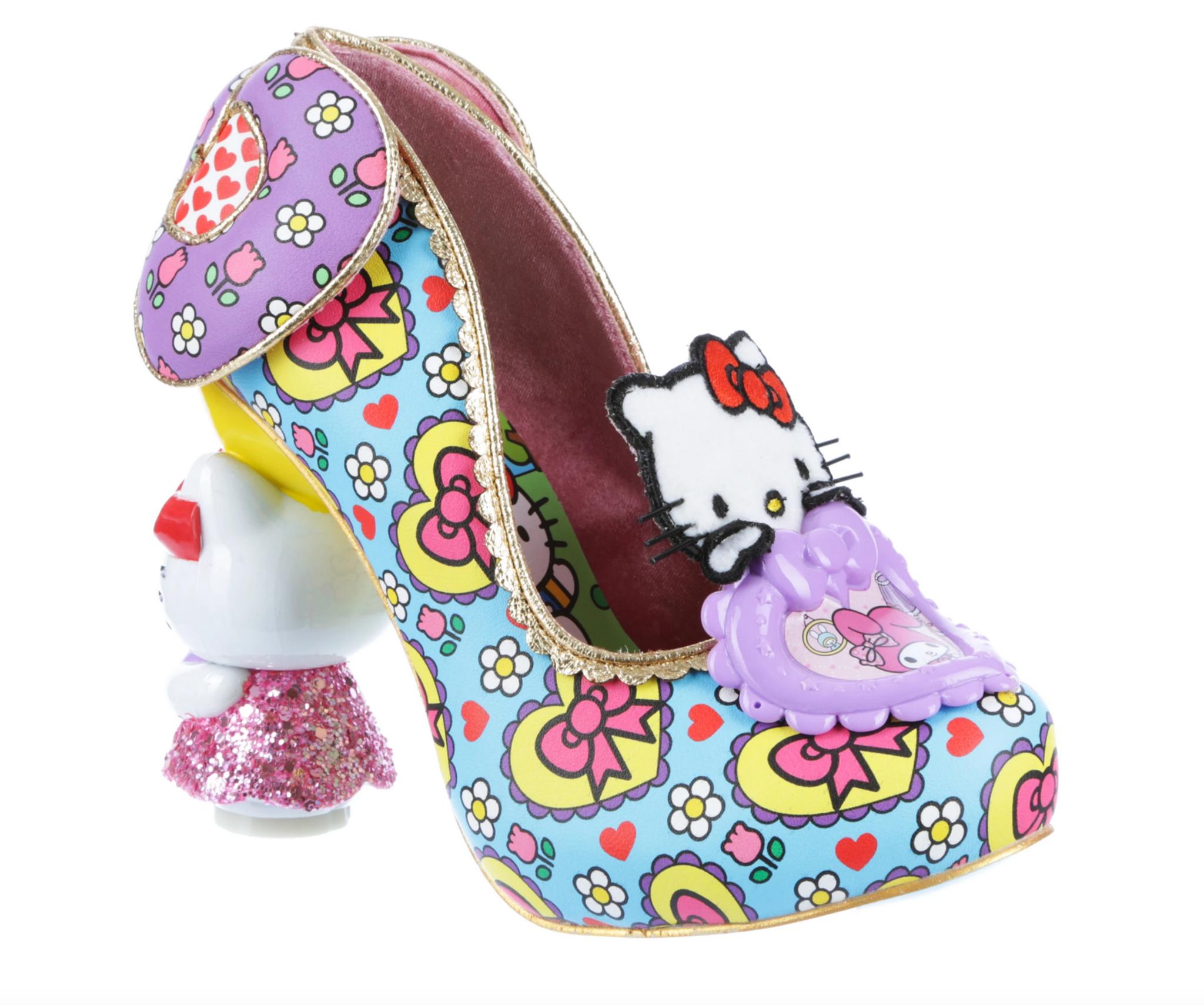 Irregular Choice Irregular Choice -  Star of the Show Blue - Hello Kitty and Friends