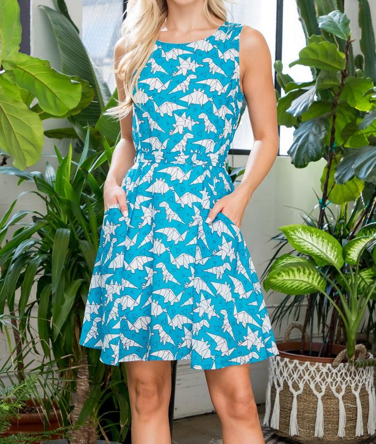 LA Soul Rawr-igami Dress