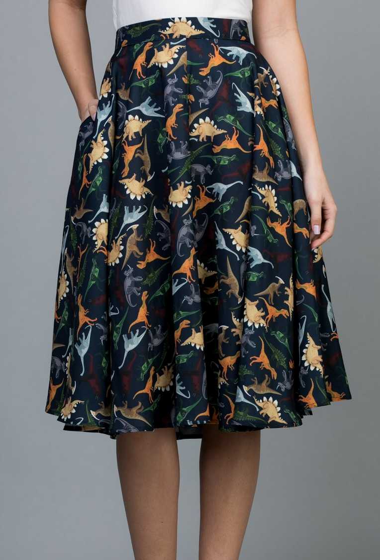 LA Soul Dino-mite Flowy Skirt