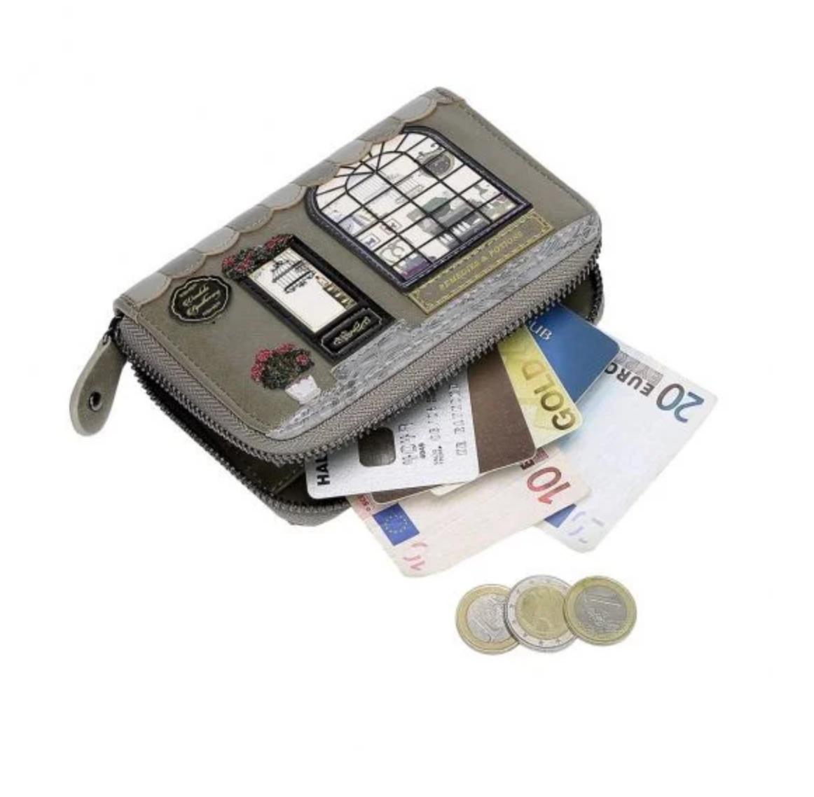 Vendula London Vendula London Apothecary Small Zip-around Wallet