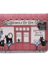Vendula London Vendula London Cat Cafe Small Zip-around Wallet