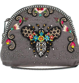 Mary Frances Mary Frances - Wild Bee Makeup Bag