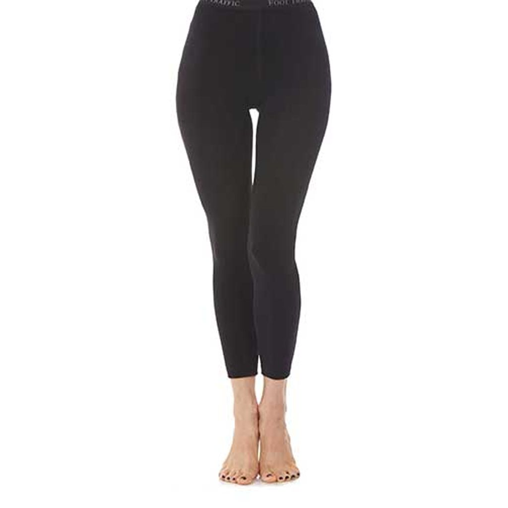 Foot Traffic Signature Combed Cotton Footless Tights