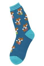 Foot Traffic Fox In Socks Women's Socks