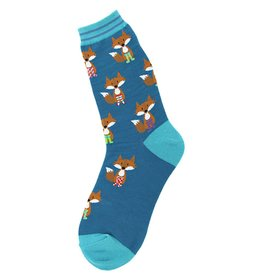 Foot Traffic Fox In Socks Women's Socks