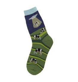Foot Traffic Alien Abduction Women's Socks